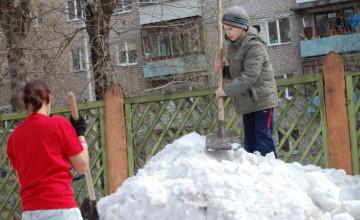 Волонтеры и ребята из ЦПД свернули горы