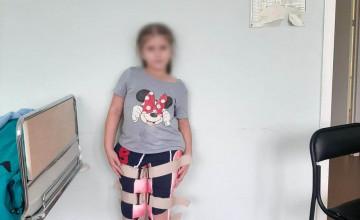 Больничная мама помогла Ане сделать первый шаг