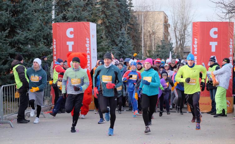Более 1500 участников «Тёплого забега» побили рекорд Пермского края