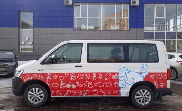 Чудомобиль «Дедморозим» ускоряет чудеса для детей Пермского края
