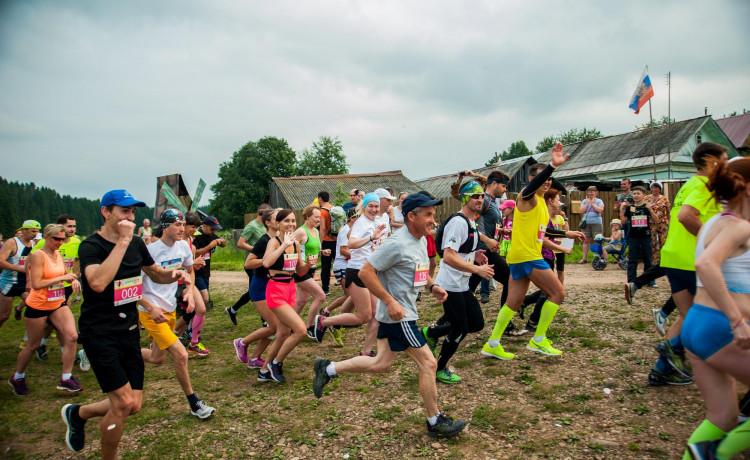 Пробежали 24 км по бездорожью ради детей