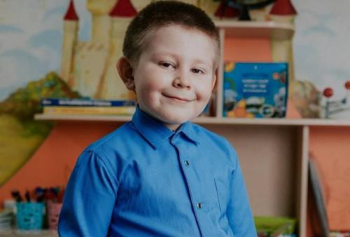 Рома Зарубин, 7 лет