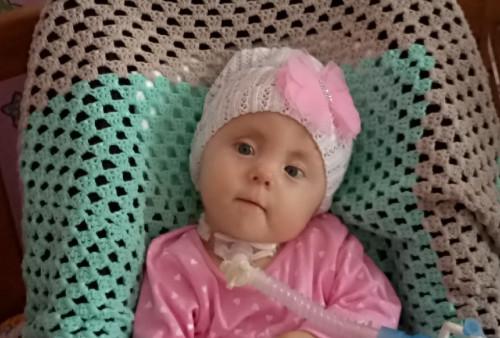 Ангелина Чермных, 1 год