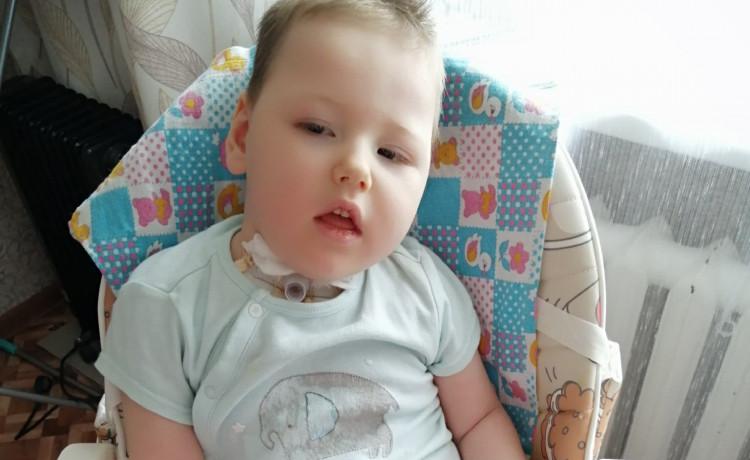 2-летнему Антону предстоит новая схватка с болезнью. Малышу нужна помощь