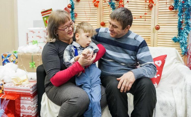 Большое детское спасибо, что помогли накормить Кирилла!