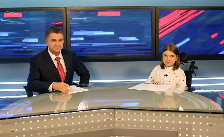 Девочка со смертельно опасным заболеванием стала ведущей на телевидении