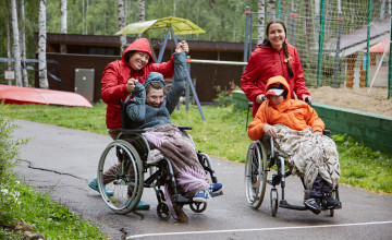 Ребята из Рудничного провели каникулы на колёсах