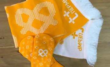 Участников «Тёплого забега» оденут в мандариновые варежки и шарфы