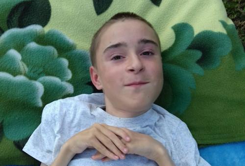 Олег Путин, 12 лет