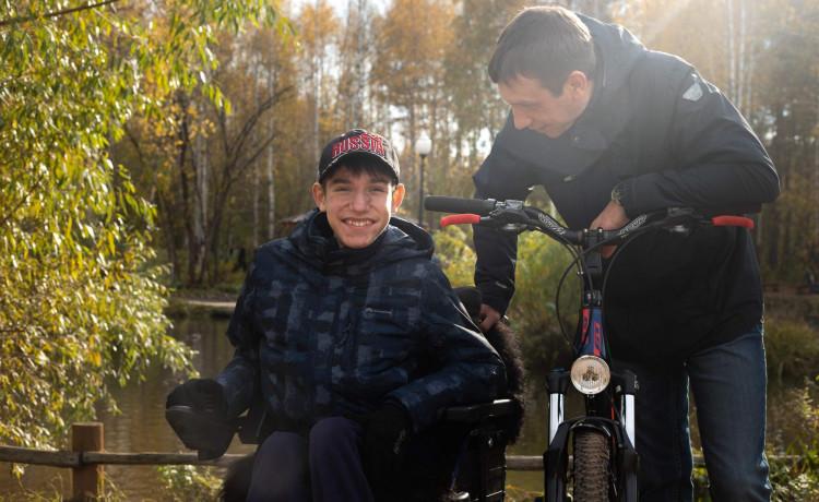 Мальчик с Паркового первым в Пермском крае стал использовать тренажёр для дыхания