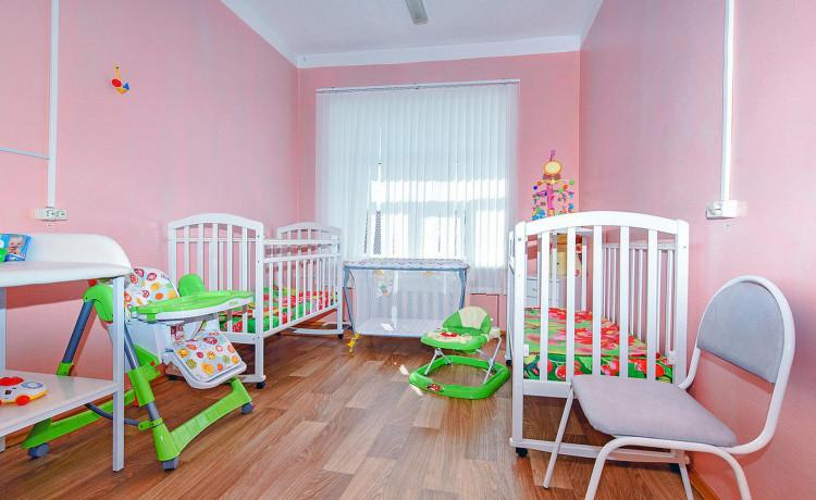 В Прикамье появилась особая палата для малышей без родителей