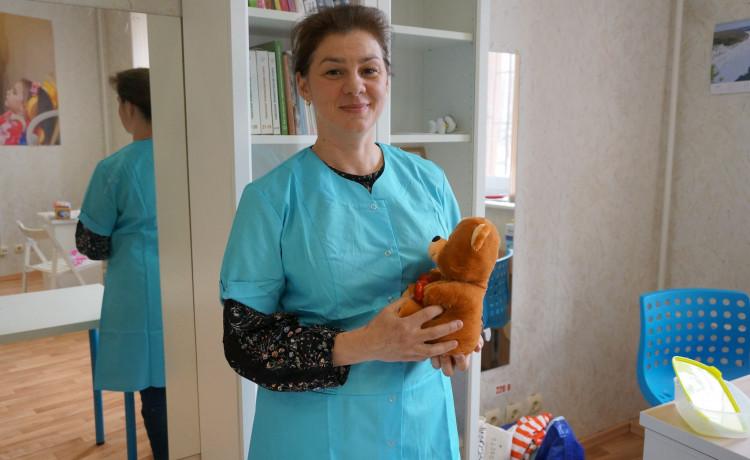 Больничная мама Юля