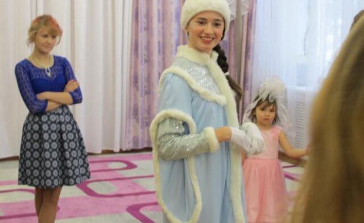 Как растопить сердце Снежной Королевы? Вручение желаний в ЦПД города Лысьва