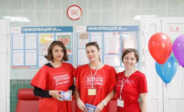 Собираем команду волонтёров для организации донорских акций