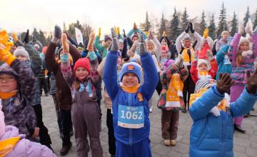 «Тёплый забег» подарит больше жизни детям