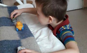 Забота больничной мамы помогла малышу справиться со страхами