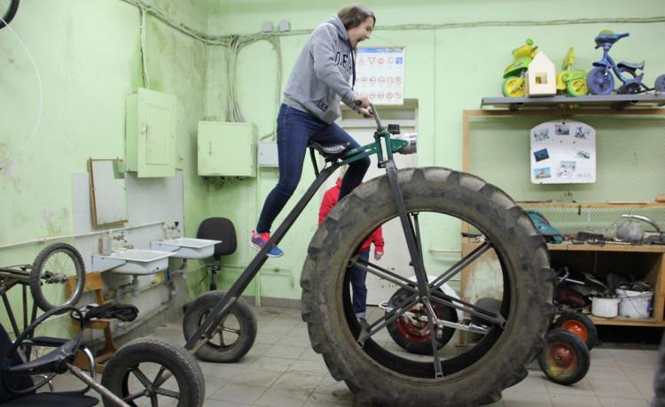 Изобретаем велосипед(ы) с детьми из Соликамска