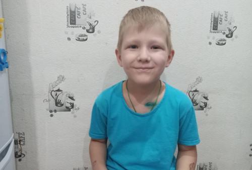 Миша Майшев, 5 лет