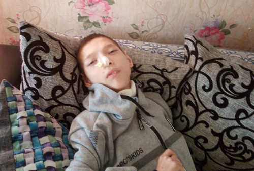 Слава Ярков, 14 лет