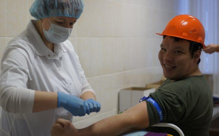 На «Метафраксе» состоялась крупнейшая в Пермском крае корпоративная акция для потенциальных доноров костного мозга